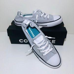 Converse Ctas Shoreline Slip White/Black/Grey NWT